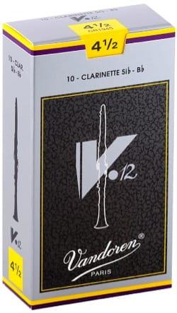 Anches pour Clarinette Sib VANDOREN® - Vandoren CR1945 - Anches V12 Clarinette Si bémol 4.5 - Accessoire - di-arezzo.fr