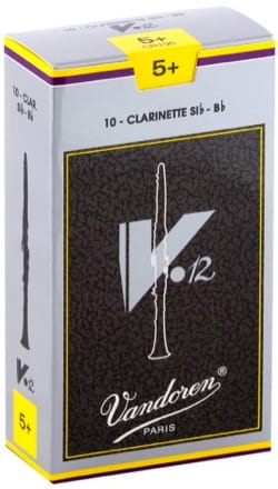 Anches pour Clarinette Sib VANDOREN® - Vandoren CR196 - Reeds V12 Clarinet B Flat 5.0 - Accessory - di-arezzo.co.uk