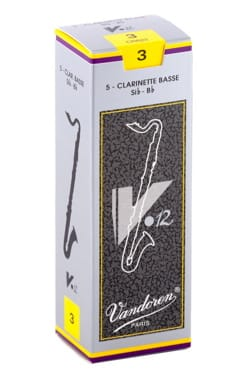 Anches pour Clarinette Basse VANDOREN® - Vandoren CR623 - Reeds V12 Clarinetto basso 3.0 - Accessorio - di-arezzo.it