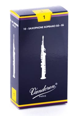 Vandoren SR201 - Anches Saxophone Soprano 1.0 laflutedepan