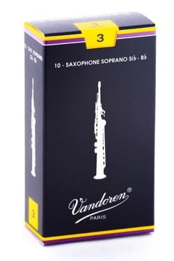 Anches pour Saxophone Soprano VANDOREN® - Vandoren SR203 - Sopransaxophonblätter 3.0 - Musikzubehör - di-arezzo.de