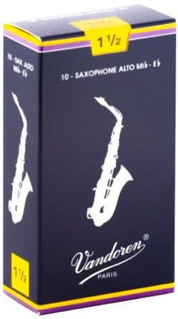 Anches pour Saxophone Alto VANDOREN® - Vandoren SR2115 - Alto Saxophone Reeds 1.5 - Accessoire - di-arezzo.com