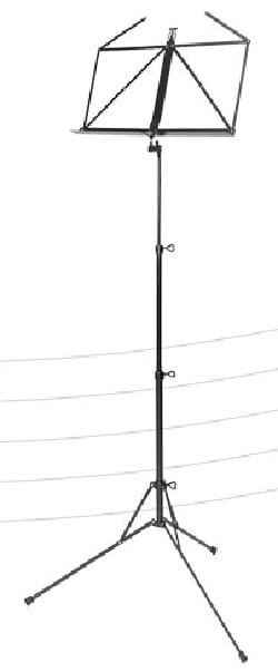 Pupitre Musique - Partition Music Stand - Color black - Accessory - di-arezzo.com