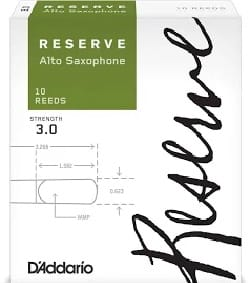 Anches pour Saxophone Alto - Addario Woodwinds ReserveサクソフォンAlto Force 3 Reeds(Box of 10) - アクセサリー - di-arezzo.jp