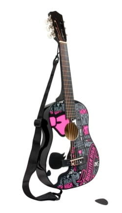 Jeu musical pour enfant - Monster High Guitarra clásica 78 cm - Accesorio - di-arezzo.es
