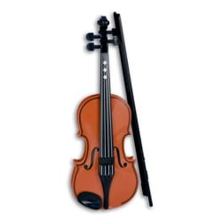 Jeu musical pour enfant - Violin Bontempi electronic brown 8 melodies - Accessory - di-arezzo.co.uk