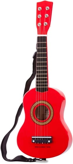 Jeu musical pour enfant - New Classic Toys Red Guitar - Accessory - di-arezzo.co.uk