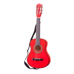 Jeu musical pour enfant - 1/4 Classical Guitar with Cover - Red 76 cm - Accessory - di-arezzo.co.uk
