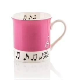 Cadeaux - Musique - Becher - Rosen-Liebes-Musik-Becher - Musikzubehör - di-arezzo.de