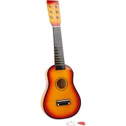 Jeu musical pour enfant - Yellow children's guitar - Accessory - di-arezzo.com