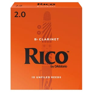 D'Addario Rico - Anches Clarinette sib 2.0 laflutedepan