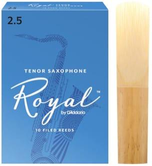 Anches pour Saxophone Ténor - D'Addario Rico Royal - Anches Saxophone Ténor 2.5 - Accessoire - di-arezzo.fr