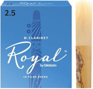 Anches pour Clarinette Sib RICO® - D'Addario Rico Royal - Bb Clarinet Reeds 2.5 - Accessory - di-arezzo.co.uk