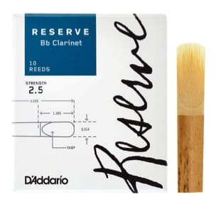 Anches pour Clarinette Sib - D'Addario Reserve - Bb Clarinet Reeds 2.5 - Accessory - di-arezzo.co.uk