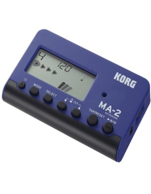 Métronome Electronique - KORG Metronome - MA-2 Blue and Black - Accessory - di-arezzo.co.uk