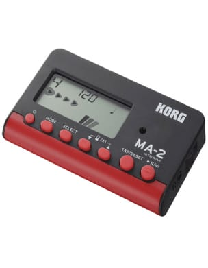 Métronome Electronique - KORG Metronome - MA-2 Black and Red - Accessory - di-arezzo.co.uk