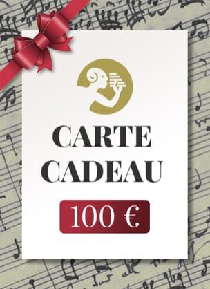 CARTE CADEAU - 100 € Accessoire laflutedepan