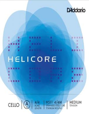 Cordes pour Violoncelle HELICORE™ - LA D'ADDARIO CELLO CABLE 4/4 HELICORE ™ - MEDIUM Tie - Accessory - di-arezzo.com