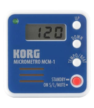 Métronome Electronique - KORG Metronome - MCM-1BL - Accessory - di-arezzo.co.uk