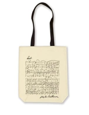 Cadeaux - Musique - Cotton Shopping Bag - Beethoven - Accessory - di-arezzo.co.uk
