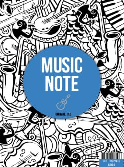 - Guitar Tab Music Book - Stationery - di-arezzo.com