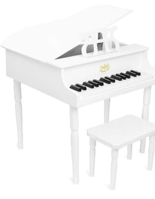 Jeu Musical pour enfant - Grand Piano with White Tail - Toy for child - Accessory - di-arezzo.com