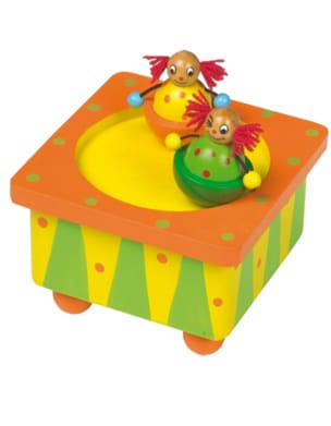 Jeu musical pour enfant - Clowns music box - Accessory - di-arezzo.co.uk