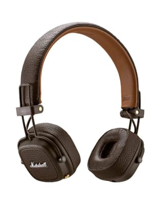 Accessoire pour Musicien - Marshall Major 3 Brown Bluetooth Headset - Accessory - di-arezzo.co.uk
