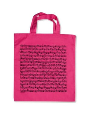 Cadeaux - Musique - Rose Bag - Sheet Music - Accessory - di-arezzo.co.uk