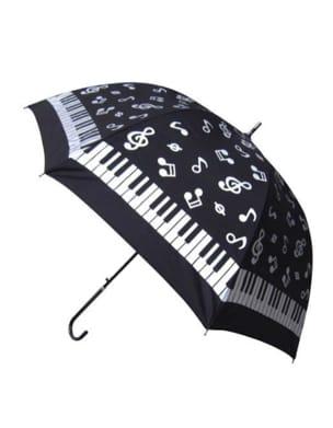 Parapluie notes de musique et piano Cadeaux - Musique laflutedepan