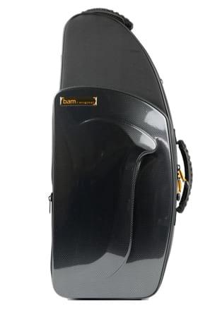 Etui BAM Saxophone Alto New Trekking Noir carbone - laflutedepan.com