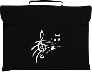 Cartable à Musique - Music bag treble clef - Accessory - di-arezzo.com
