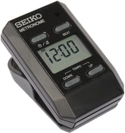 Métronome Electronique - DM-51 BLACK SEIKO - Metronome - Accessorio - di-arezzo.it