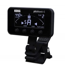 Accordeur pour Guitare - AW-3G KORG - Chromatic Clamp Tuner for GUITAR and BASS - Accessory - di-arezzo.co.uk