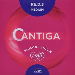Cordes pour Violon - Rope Only: RE Violin CORELLI CANTIGA Medium Ball - Accessory - di-arezzo.com