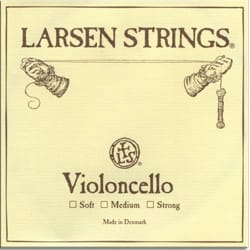 Cordes pour Violoncelle - String of LA LARSEN CELLO medium Solist Edition - Accessory - di-arezzo.co.uk