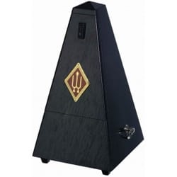 Métronome Mécanique WITTNER® - WITTNER Metronome: SATIN BLACK OAK WOOD - No ringing - Accessory - di-arezzo.co.uk
