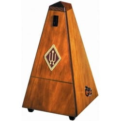 Métronome Mécanique WITTNER® - WITTNER Metronome: WOOD WALNUT MAT - With striking - Accessory - di-arezzo.co.uk