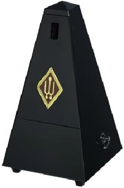 Métronome Mécanique WITTNER® - Metronome WITTNER: MATT BLACK WOOD - With striking - Accessory - di-arezzo.co.uk