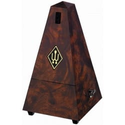 Métronome Mécanique WITTNER® - Metronome WITTNER: Plastic effect RONCE WALNUT - Without ringing - Accessory - di-arezzo.co.uk