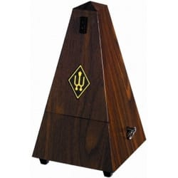 Métronome Mécanique WITTNER® - Metronome WITTNER: Plastic effect MADRURE WALNUT - No ringing - Accessory - di-arezzo.co.uk