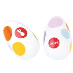 Jeu musical pour enfant - Egg Maracas Confetti JANOD - Accessory - di-arezzo.co.uk