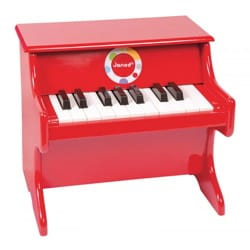 Jeu musical pour enfant - Confetti Red Piano JANOD - Accessorio - di-arezzo.it
