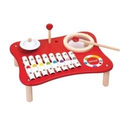 Mix Music Confetti JANOD Jeu musical pour enfant laflutedepan