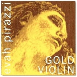 Cordes pour Violon - EVAH PIRAZZI GOLD MI violin string with medium ball - Accessory - di-arezzo.com