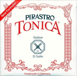 Corde Violon TONICA LA 3/4-1/2 tirant moyen - laflutedepan.com