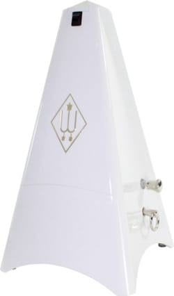 Métronome Mécanique Tower Line WITTNER® - WITTNER Metronome: WHITE Plastic - No ringing - Accessory - di-arezzo.co.uk