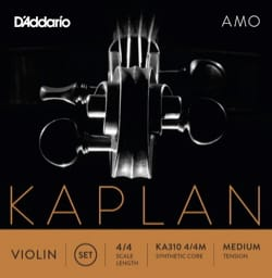 Cordes pour Violon KAPLAN™ - KAPLAN ™ AMO String Set for VIOLIN - MIDDLE Pull - Accessory - di-arezzo.co.uk