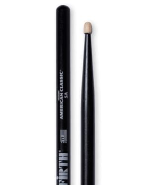Baguettes de Batterie - Drum Sticks VIC FIRTH Black - 5AB - Accessory - di-arezzo.com