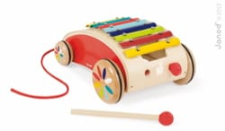 Jeu musical pour enfant - Xylo Roller Red JANOD - Toy for Child - Accessory - di-arezzo.co.uk